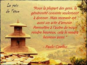 Donner & Recevoir, Actes d'Amour...