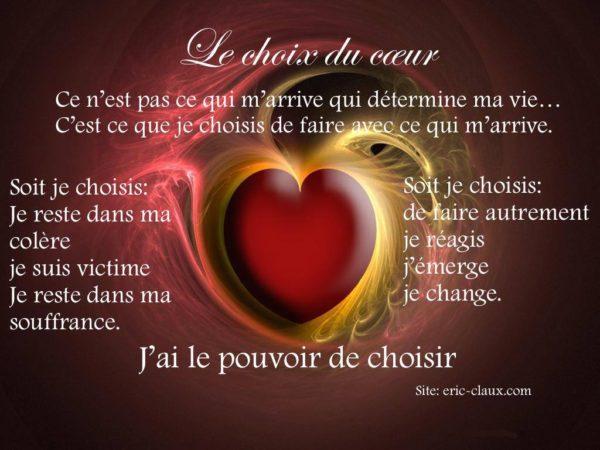 Le Choix du Coeur
