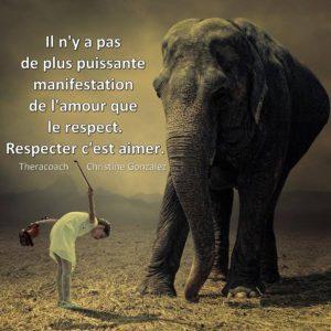 Respecter C'Est Aimer