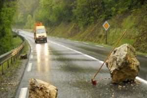 Un Obstacle Sur La Route