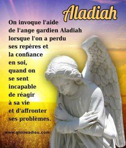 L'Ange Aladiah pour Affronter nos Problèmes