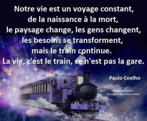 Notre Vie Est Un Voyage Constant