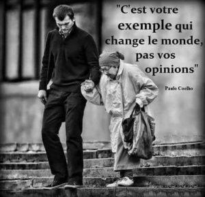 Votre Exemple Change le Monde
