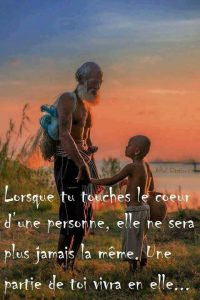 Lorsque Tu Touches Le Coeur d'Une Personne...