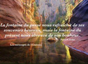 La Fontaine du Passé...