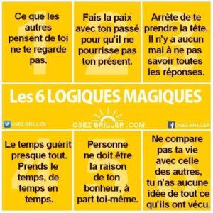 6 Logiques Magiques