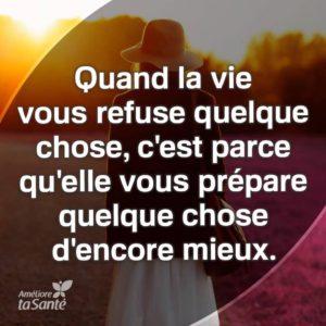Quand la Vie Vous Refuse Quelque Chose...