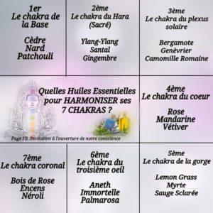Huiles Essentielles Pour Harmoniser Nos Chakras