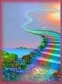 Escaliers couleurs