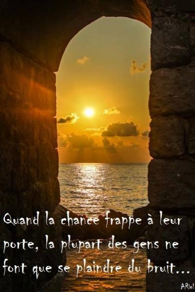 Quand La Chance Frappe A La Porte...