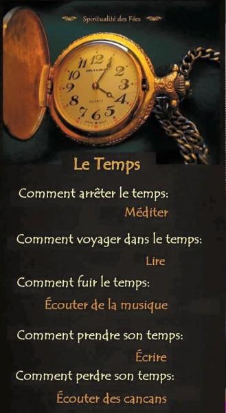 Le Temps....