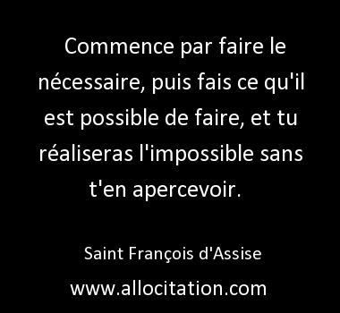 Fais Le Nécessaire...