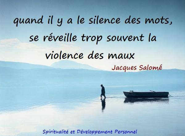 Le Silence des Mots