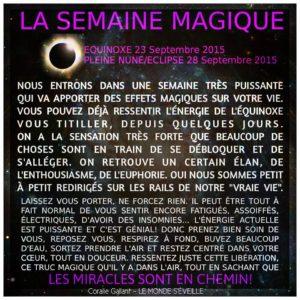 La Semaine Magique