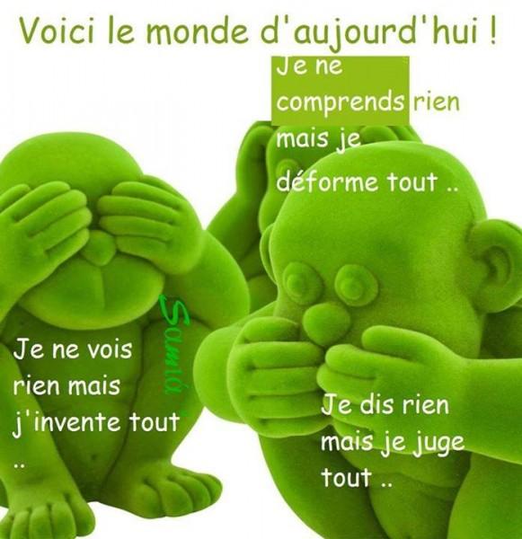 Le Monde d'Auourd'hui...