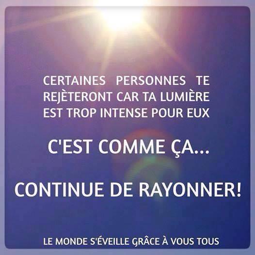 Continue de Rayonner
