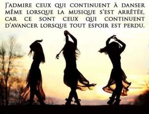 Continuer de Danser....