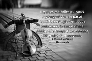 Il Y A Des Mélodies...