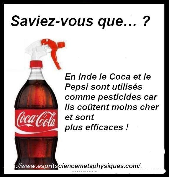 Pepsi-Coca En Pesticide