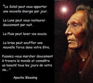 Bénédiction Apache