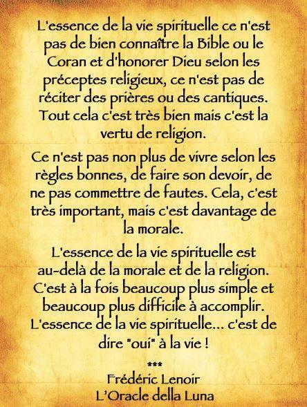 L'Essence De La Vie Spirituelle