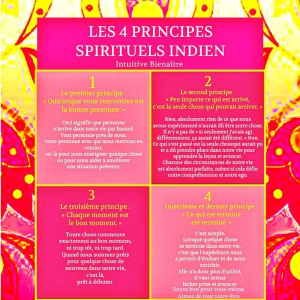 Les 4 Principes Spirituels Indiens