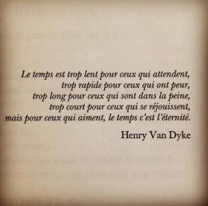 Le Temps Est Trop...
