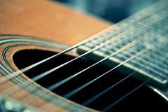Oscillations Cordes de Guitare