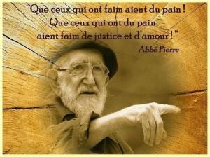 Que Ceux Qui Ont du Pain...