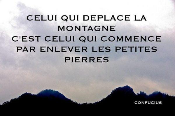 Celui Qui Déplace Les Montagnes....