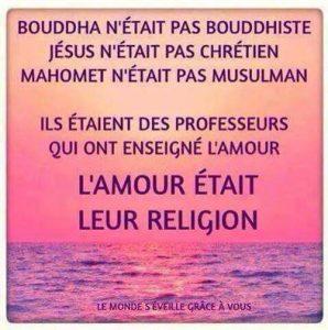 L'Amour Pour Religion