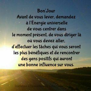 Avant De Vous Lever...