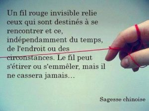 Un Fil Rouge Invisible Nous Relie