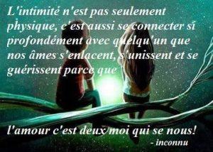 L'Intimité...
