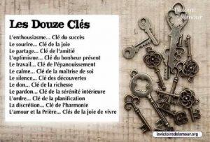 Les Douze Clés