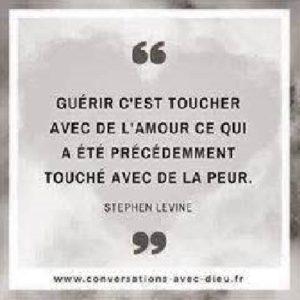 Guérir C'Est Toucher Avec De l'Amour...