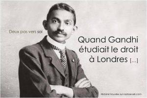 Quand Gandhi Etudiait Le Droit à Londres