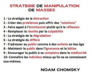 Quelques Stratégies de Manipulation de Masse