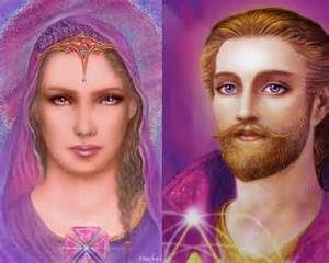 Maître St Germain et Lady Portia