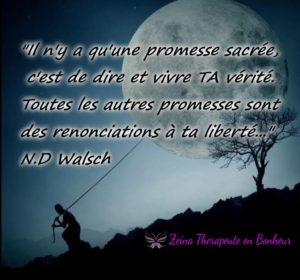 Il n'y A qu'Une Promesse Sacrée...