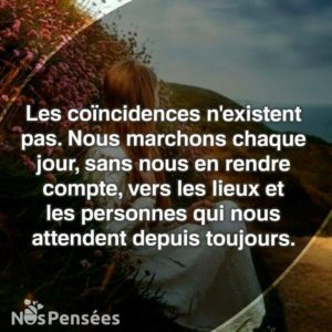 Les Coïncidences N'Existent Pas