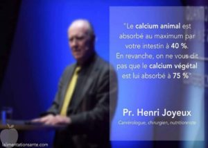 Le Calcium Animal ou Végétal
