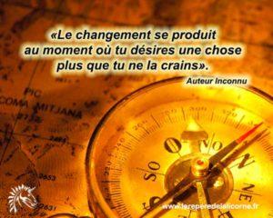 Et Le Changement Se Produit...