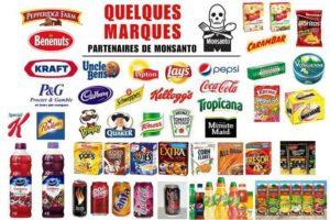 Quelques Marques Partenaires de Monsanto
