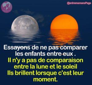 Il N'Est De Comparaison Entre la Lune et Le Soleil