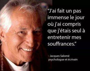 J'Ai Fait Un Pas Immense Le Jour Où J'Ai Compris
