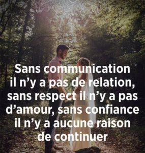Sans Communication Il n'Y A Pas de Relation