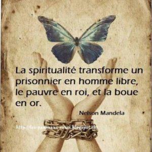 La Spiritualité Transforme