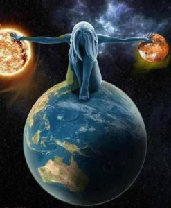 Vous Êtes Le Centre de l'Univers