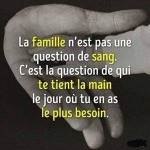 La Famille n'Est Pas une Question de Sang